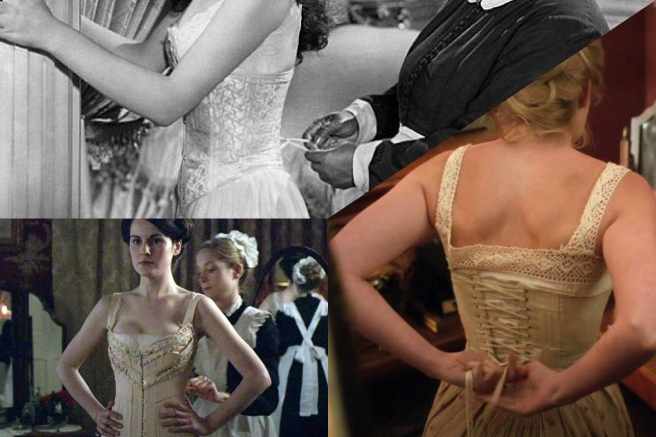 Period dramas and corsets: Downton Abbey, Gone with the Wind, The Paradise