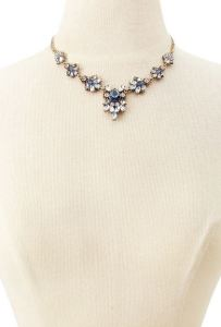 Forever 21 necklace, rhinestones, Rose, Titanic fashion