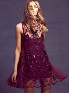 Free People, Rose, Titanic, dress, fashion