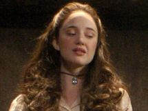 Angelica Fanshawe from The Devil's Whore Wearing a Choker