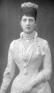 Alexandra, Princess of Wales Wearing a Choker Neckalce