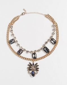Jeweled Choker: Period Drama Fashion