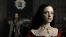 The Devil's Whore: Angelica Fanshawe Wearing a Choker