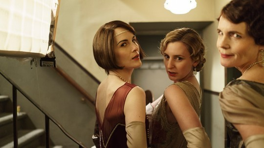 Downton Abbey: Lady Mary, Edith and Cora