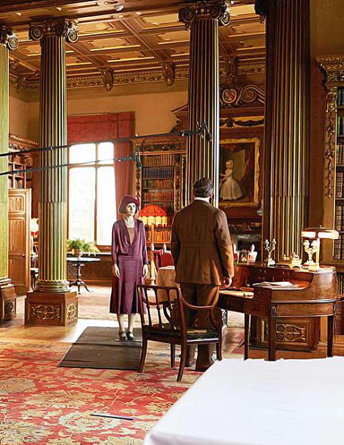 Lady Mary: Downton Abbey Season 6 Episode 1