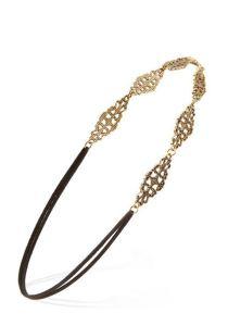 Flapper-inspired headband