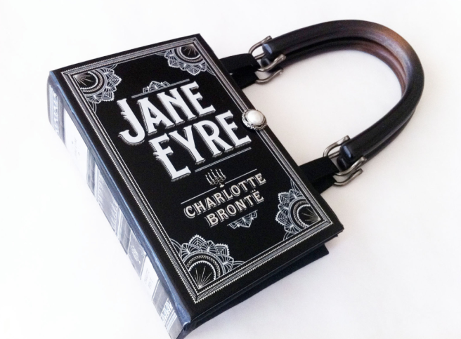 Novel Creations Jane Eyre book purse