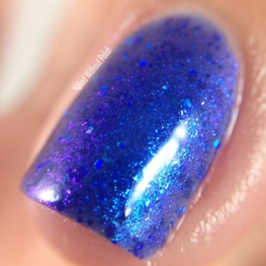 Lollipop Posse Lacquer: I Am No Bird jelly nail polish