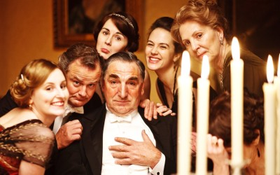 Downton Abbey silly photo