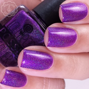 Lollipop Posse Lacquer: Where there is no extrication nail polish