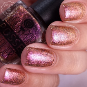 Lollipop Posse Lacquer: You Almsot Unearthly Thing nail polish