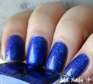 I Am No Bird nail polish: Lollipop Posse Lacquer