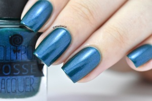 My Drop of Living Water nail polish: Lollipop Posse Lacquer