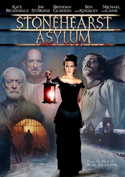 Stonehearst Asylum: Blu-ray cover