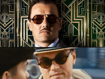 1920s style round sunglasses from The Great Gatsby