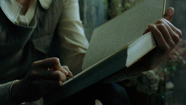 I Capture the Castle: Cassandra writing