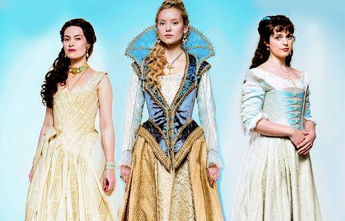 The Musketeers BBC Milady Anne and Constance
