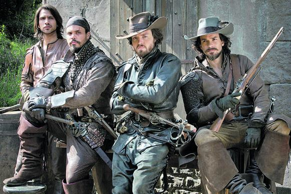 The Musketeers BBC tv show