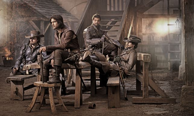 The Musketeers BBC sitting still