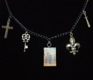 Three Musketeers Charm Necklace