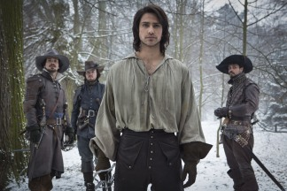 The Musketeers: D'Artagnan in a shirt