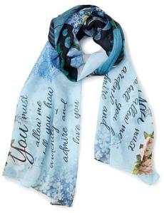 Pride and Prejudice scarf