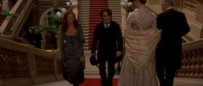 Heather Graham and Johnny Depp in From Hell