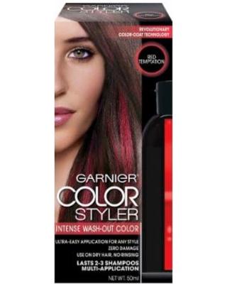 Garnier Color Styler Intense Wash-Out, Red Temptation