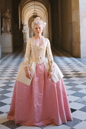 Marie Antoinette Movie Costume: Pink and Yellow