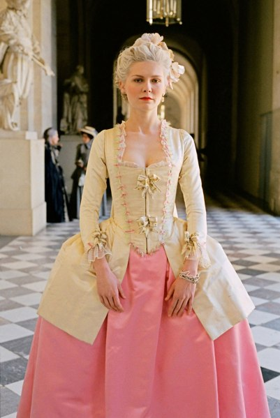 Marie Antoinette Pink and Yellow Costume