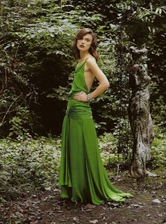 Keira Knightley in the green dress from Atonement